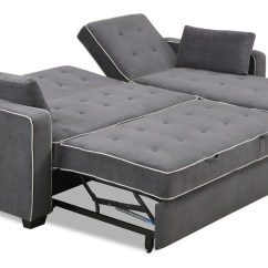 Microfiber Sofa Bed Stylus Made To Order Sofas Reviews Augustine Sectional Moon Grey By Serta / Lifestyle