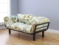 Spacely Futon Daybed/Lounger with Mattress English Garden ...