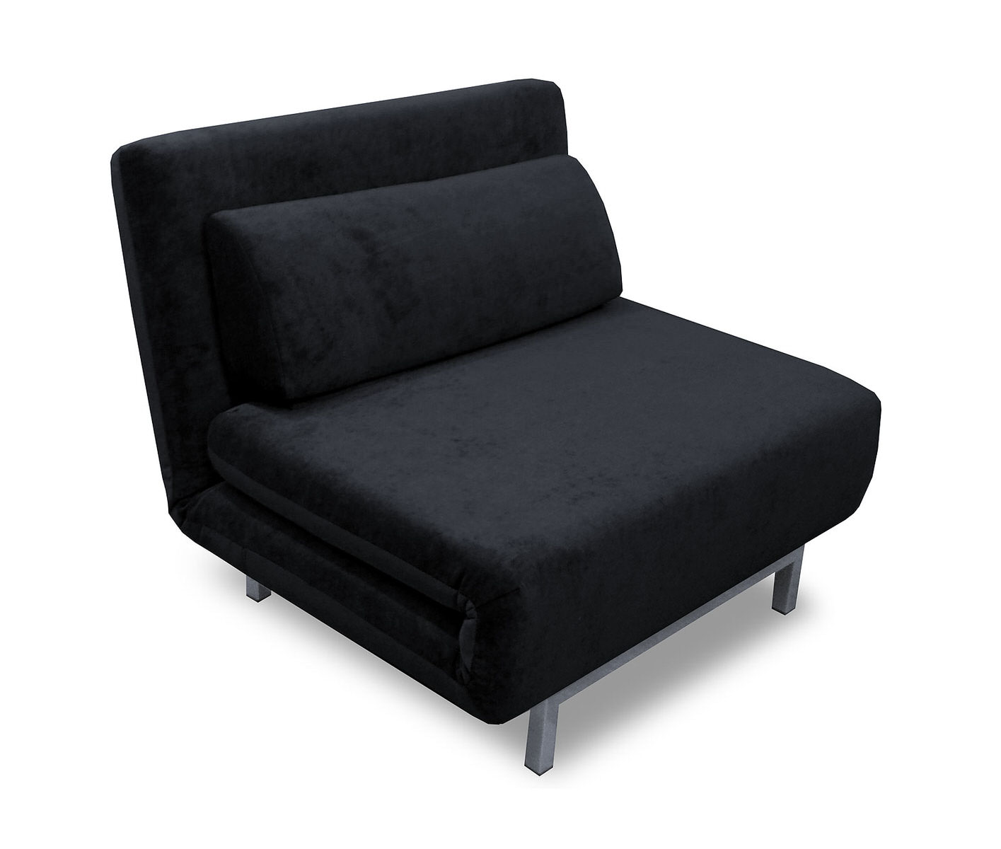Bed Chair Convertible Black Chenille Chair Bed Lk06 By Ido