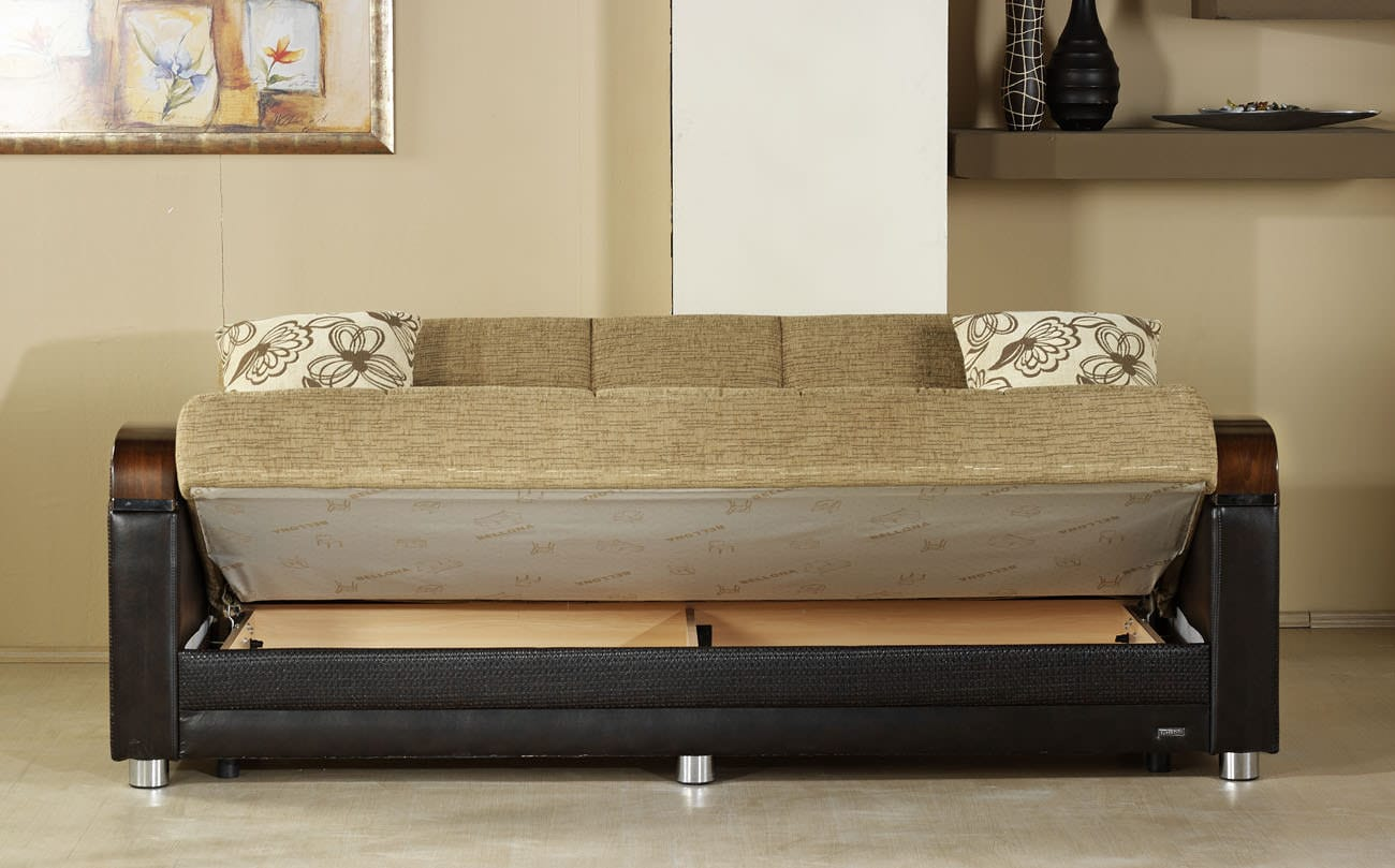 convertible sofa beds new york hollywood regency table luna fulya brown bed by istikbal (sunset)