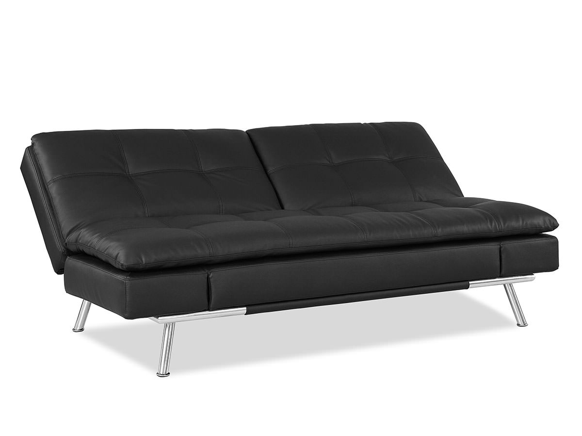 index mulberry sofa bed red chair matrix convertible black by lifestyle solutions