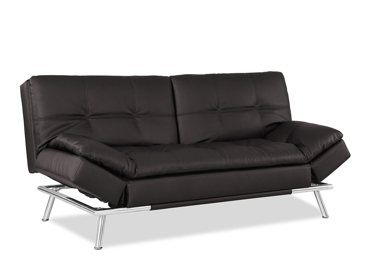 Matrix Convertible Sofa Bed Java by Lifestyle Solutions
