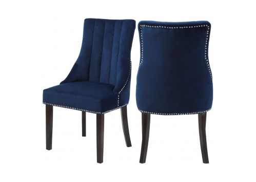 small resolution of navy dining chairs