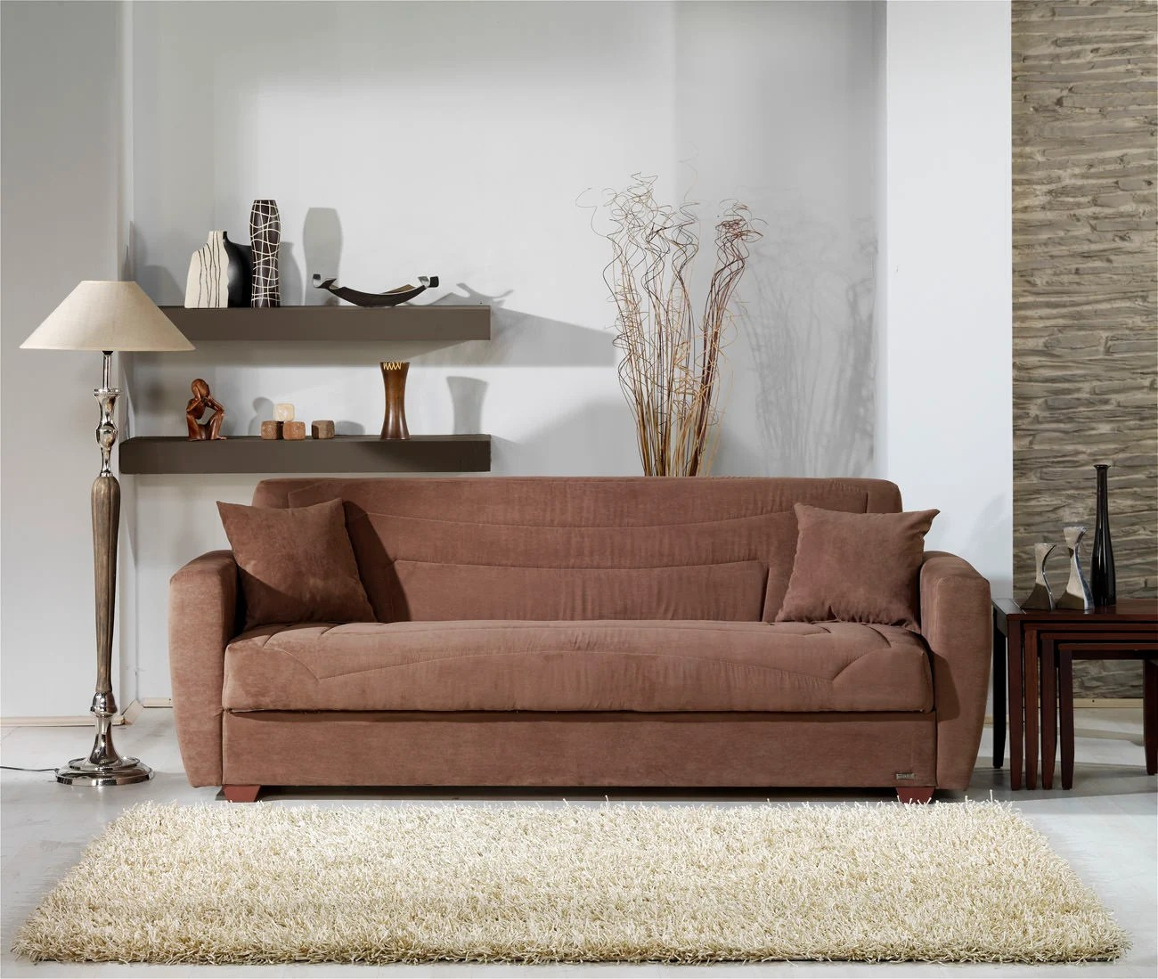 sleeper sofa miami fl slipcovers sofas obsession truffle convertible bed by sunset