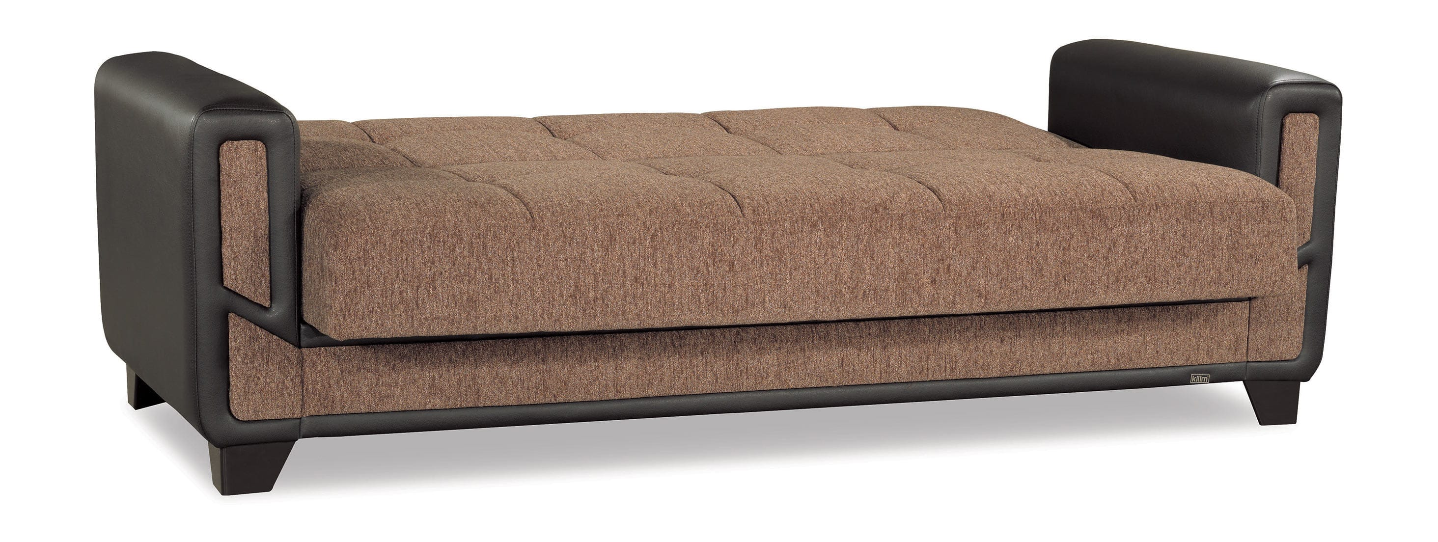 convertible sofa beds new york luxury leather collection polaris mondo modern brown bed by casamode