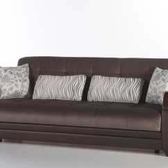 Convertible Sofa Beds New York Clearance Faux Leather Natural Prestige Brown Bed By Istikbal