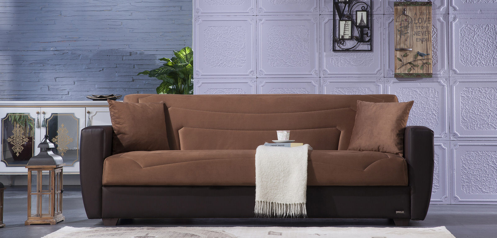 convertible sofa beds new york sectional leather sofas uk power rainbow brown bed by istikbal (sunset)