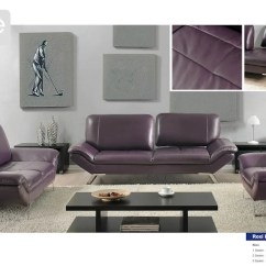 Eggplant Sofa Delahey Studio Converting Outdoor Roxi Full Italian Leather By At Home