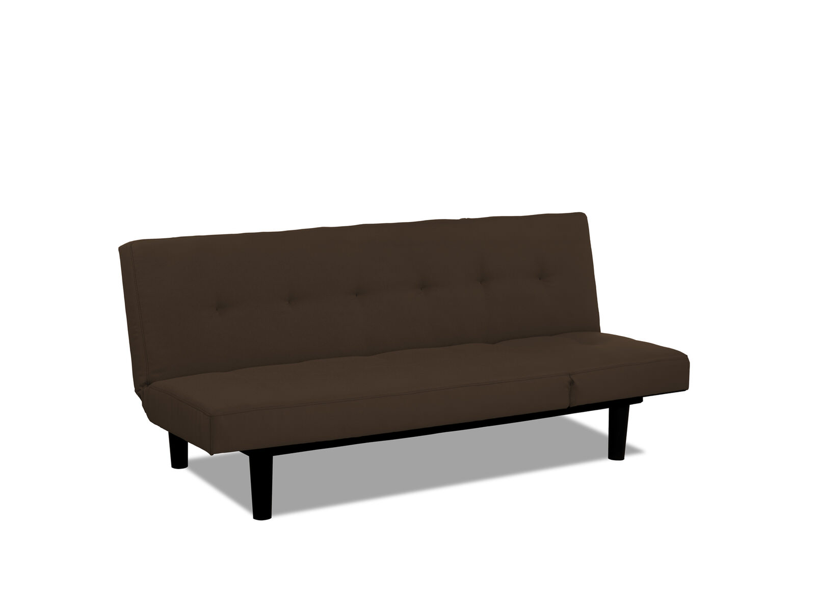 sofa bed lounger cushions for leather mini convertible brown by serta lifestyle