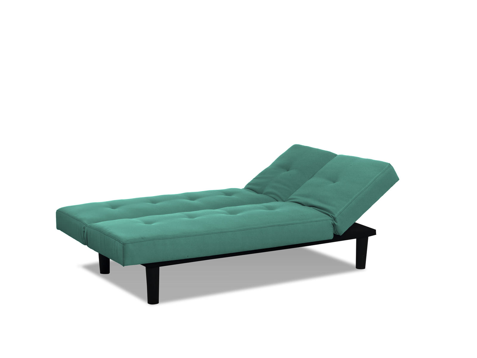 sofa bed lounger interior design living room leather mini convertible teal by serta lifestyle