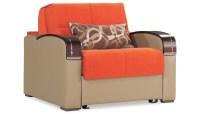 Sleep Plus Orange Convertible Chair by Casamode