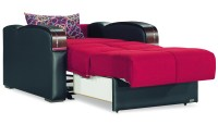 Sleep Plus Red Convertible Chair by Casamode