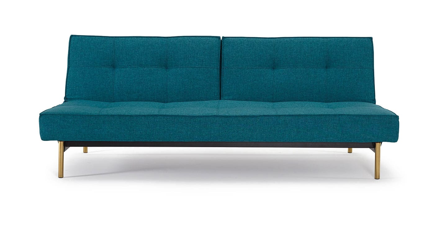 aqua sofa brown leather bed uk splitback mixed dance petrol by innovation