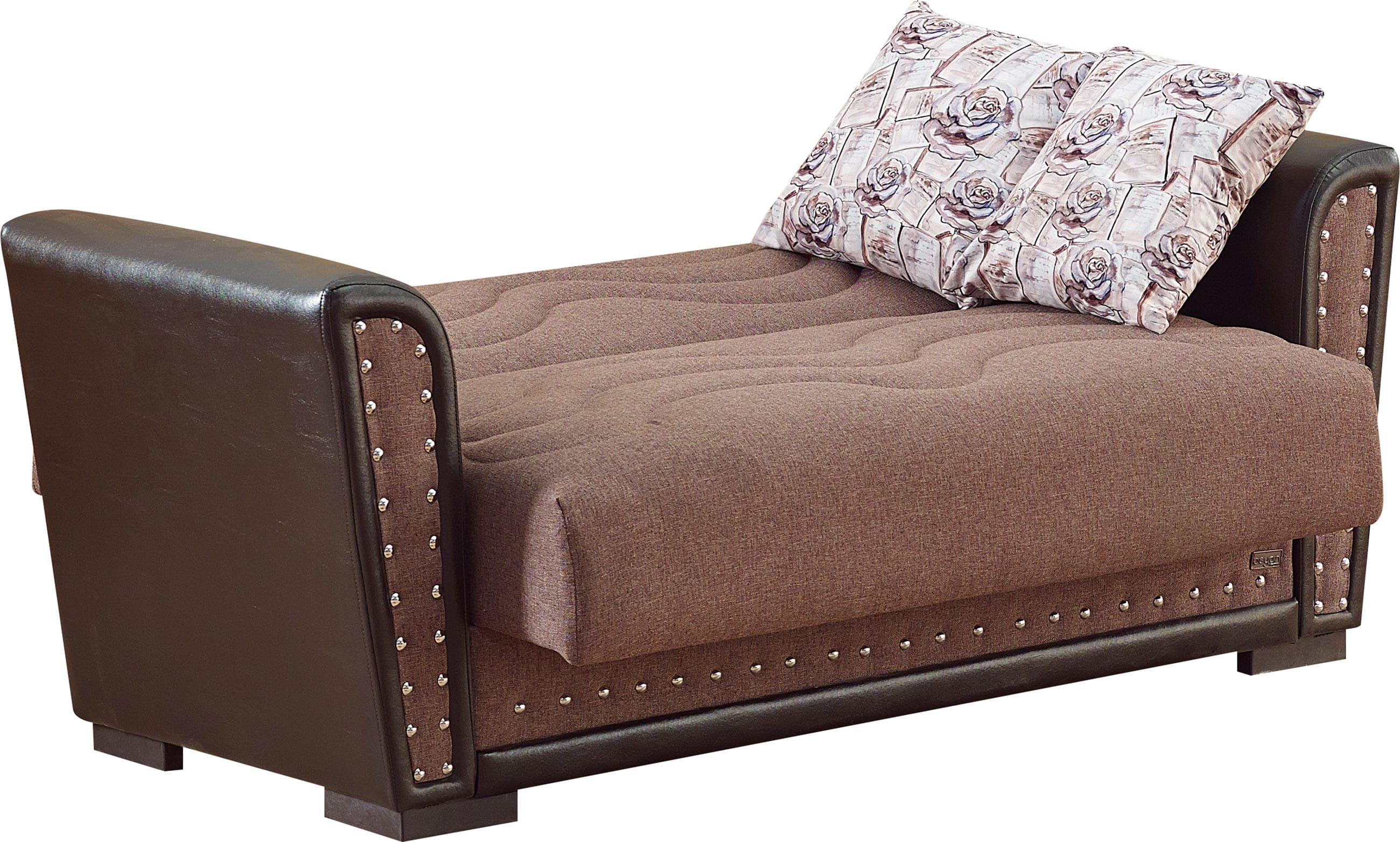 leather sofa deals toronto set designs in kerala brown fabric loveseat by empire furniture usa