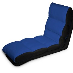 Chair To Bed Convertible Mickey Mouse Recliner Uk Turbo Lounger Blue By Serta Lifestyle