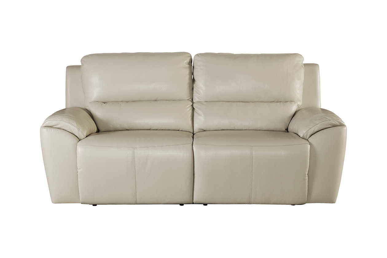 Ashley Furniture Recliner Chairs Valeton Power Cream Reclining Sofa By Ashley Furniture