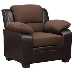 Chair Stool Sofa Power Rental U880018kd Chocolate Microfiber By Global Furniture