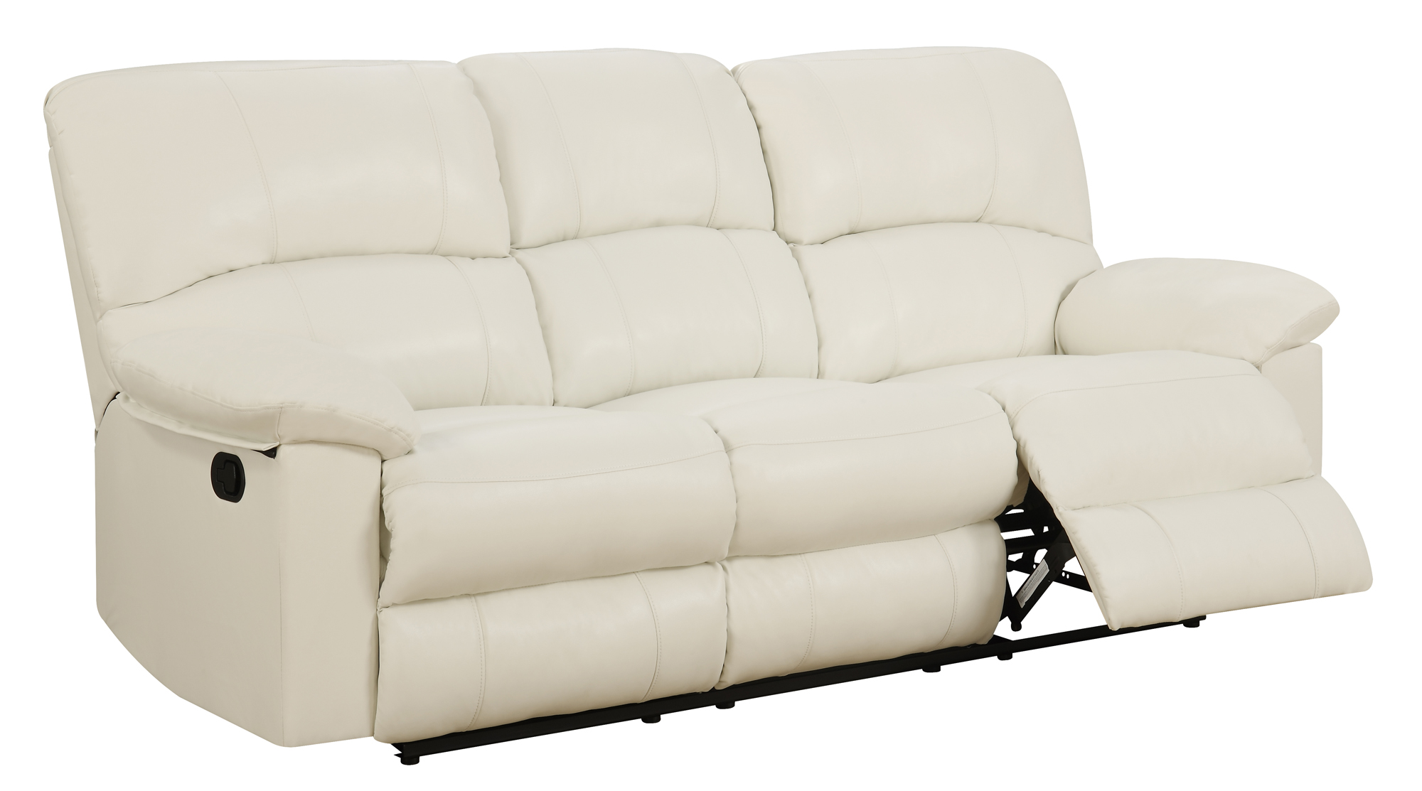 white reclining sofa and loveseat how to fix bonded leather u99270 by global furniture
