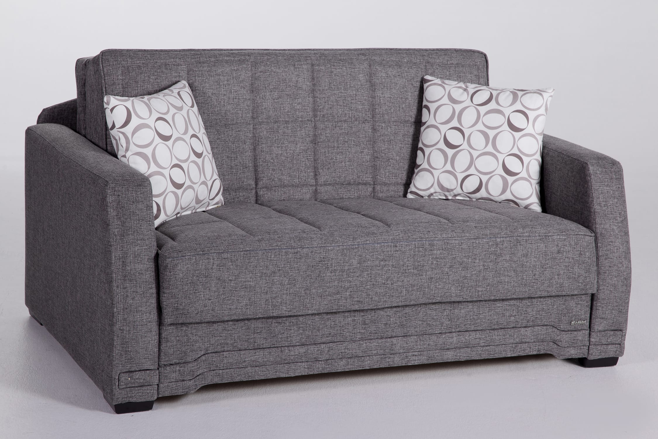 love seat sofa sleeper armchair set valerie diego gray loveseat by istikbal sunset