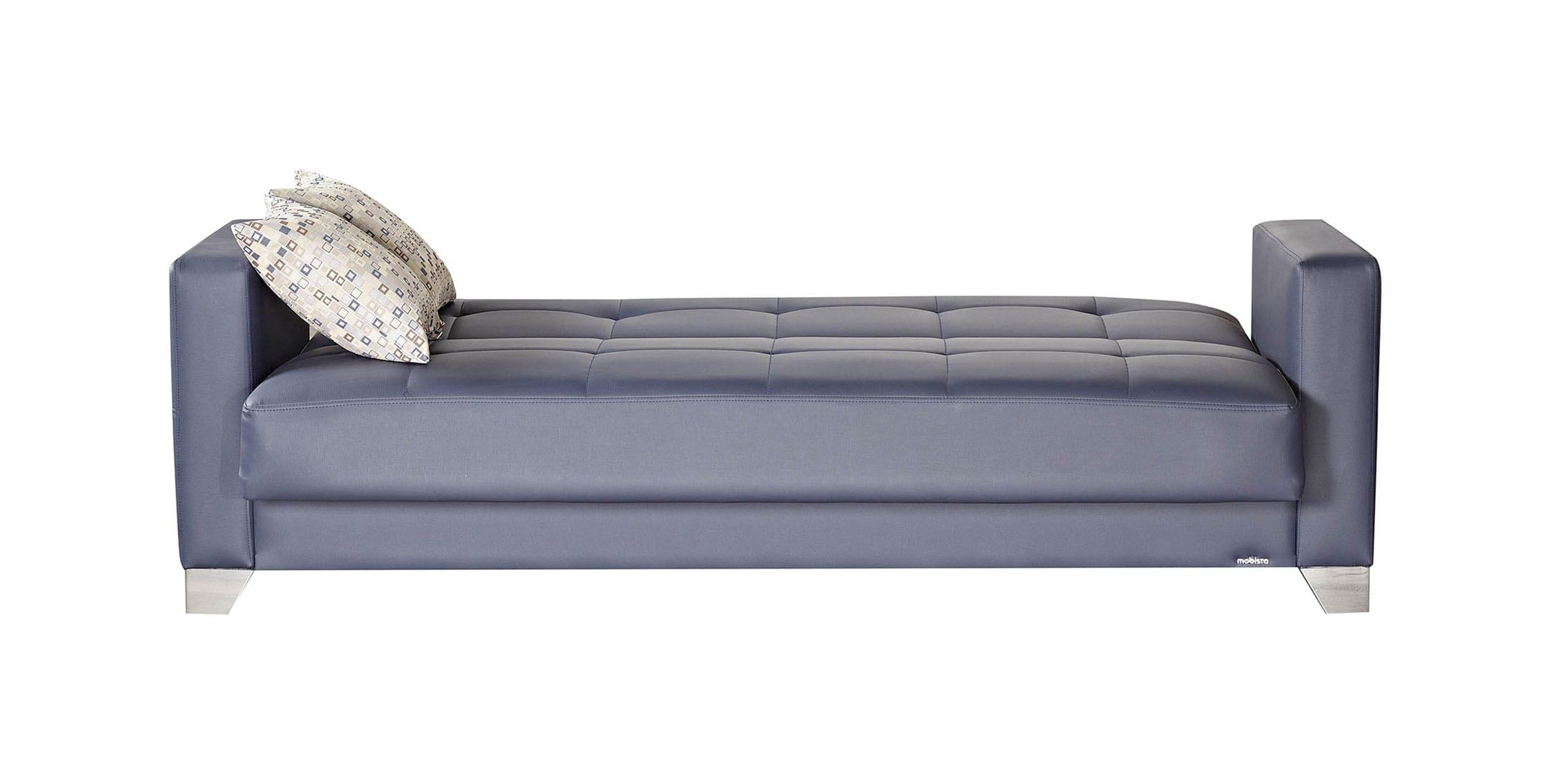 leatherette sofa durability macys bed sale viva italia prestige navy blue by mobista