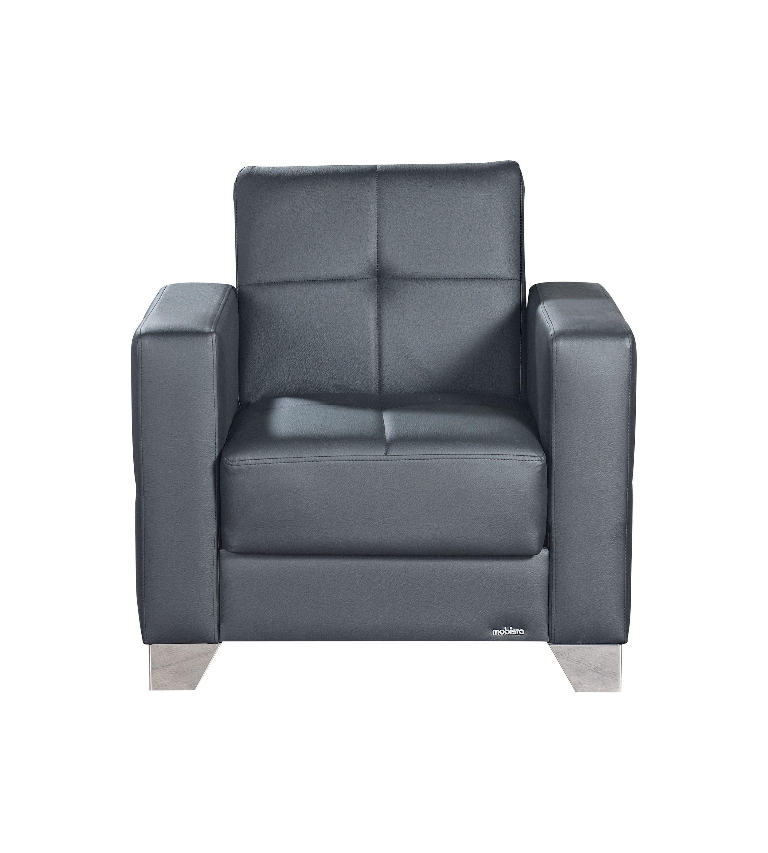 leatherette sofa durability robert three seater recliner viva italia prestige black armchair by mobista