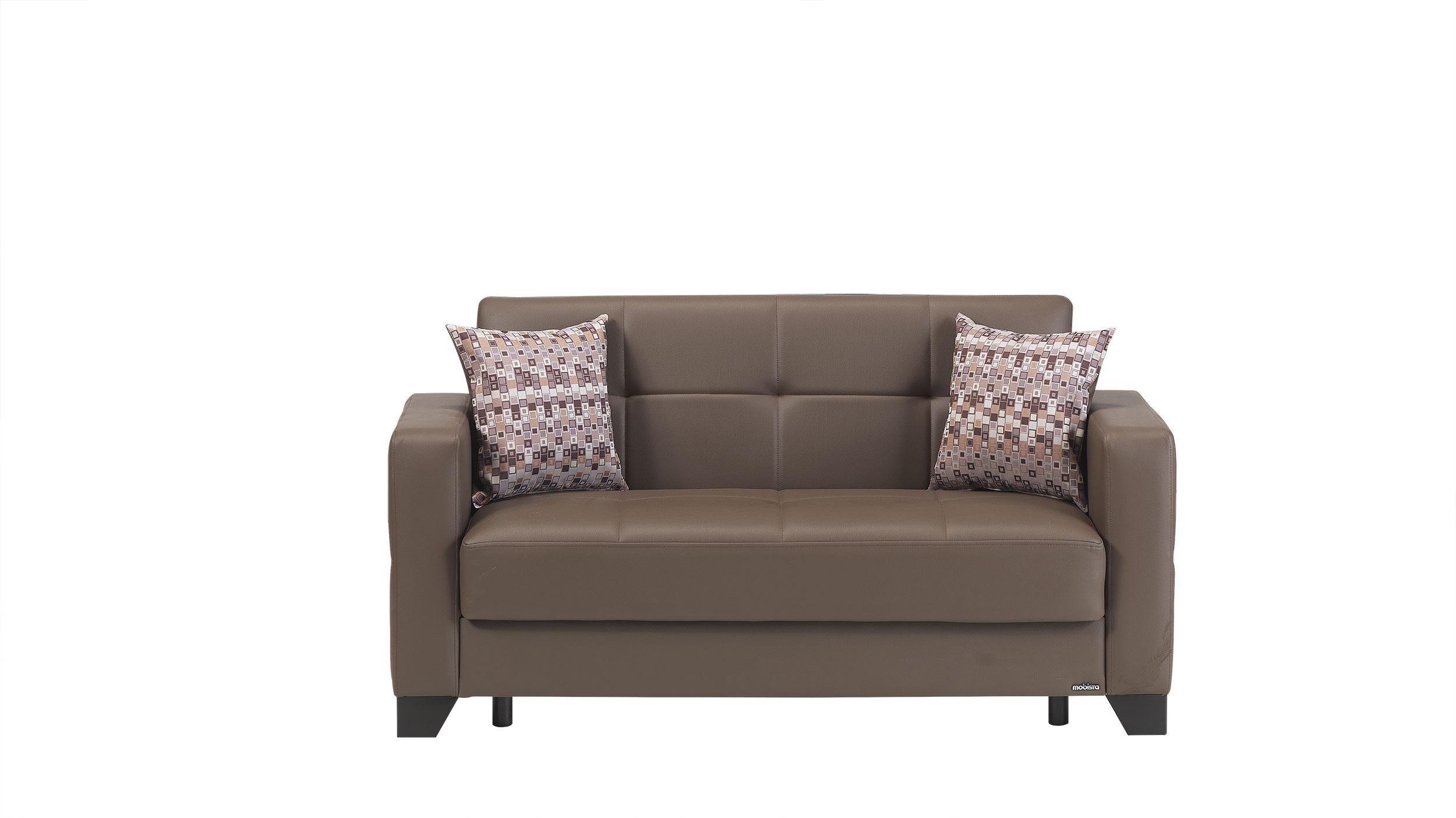 leatherette sofa durability usado curitiba viva italia prestige brown loveseat bed by mobista