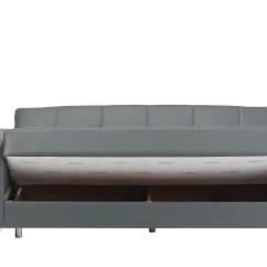 Leatherette Sofa Durability Stretch Suede Slipcover Viva Italia Prestige Dark Gray Bed By Mobista