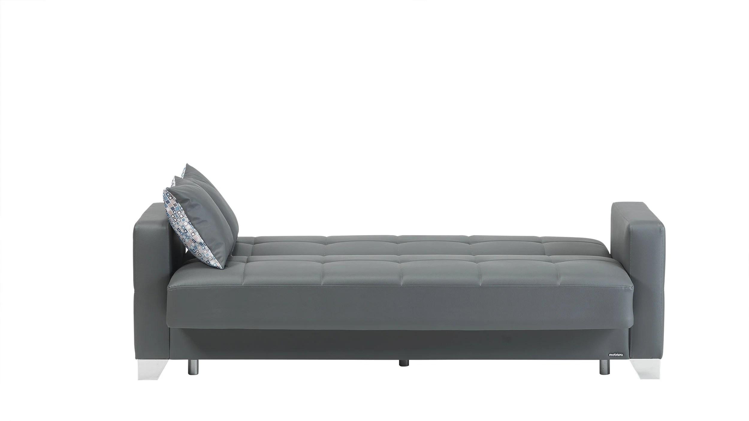 leatherette sofa durability burnt orange viva italia prestige dark gray bed by mobista