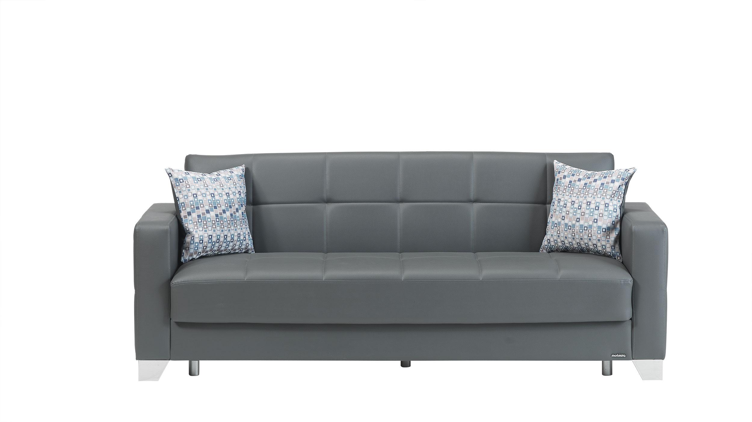 leatherette sofa durability laura ashley rochester viva italia prestige dark gray bed by mobista