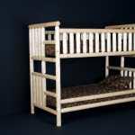 Log Bunk Bed By Viking Log Furniture