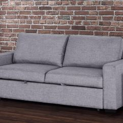 New York Sofa Bed Nz Large Lounge Vincenzo Sleeper Light Grey By Primo