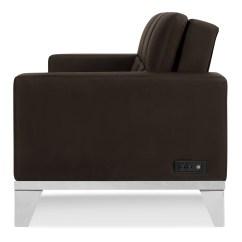 Serta Bonded Leather Convertible Sofa Italy Uk Westridge Java By Lifestyle