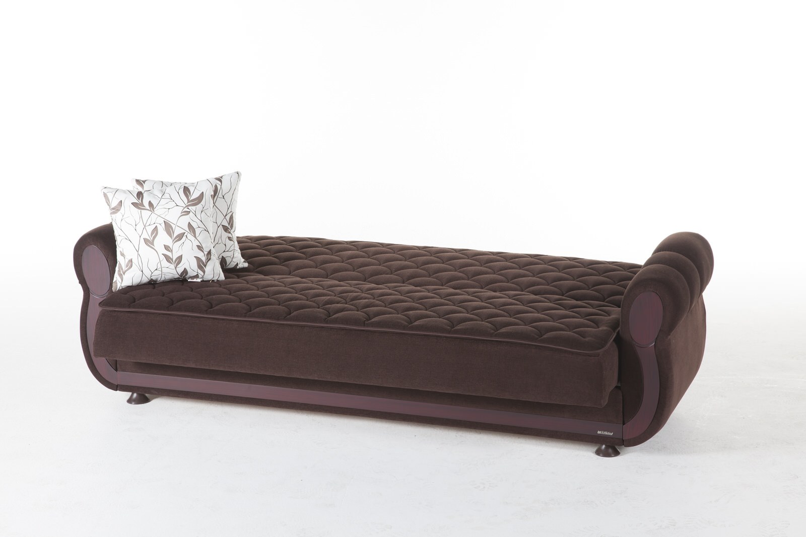sofa bed argos bargain beds colins brown convertible by istikbal sunset