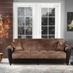 Convertible Sofa Beds New York White Italian Leather Sectional Aspen Mocha Vinyl Bed By Sunset