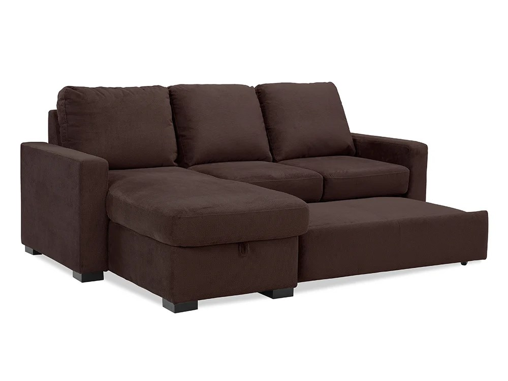 sealy living room furniture brown leather decor chester convertible sofa java by lifestyle solutions