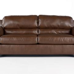 Ashley Furniture Durablend Sleeper Sofa Cigar Club Tufted Linen Bark Queen Signature Design By