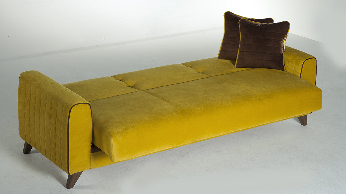 convertible sofa beds new york moccasin microsuede luxe slipcover fabio lilyum yellow bed by sunset