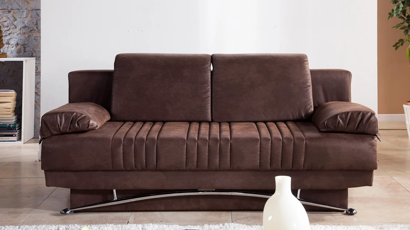 convertible sofa beds new york cherry house leather sofas fantasy chocolate bed by istikbal sunset