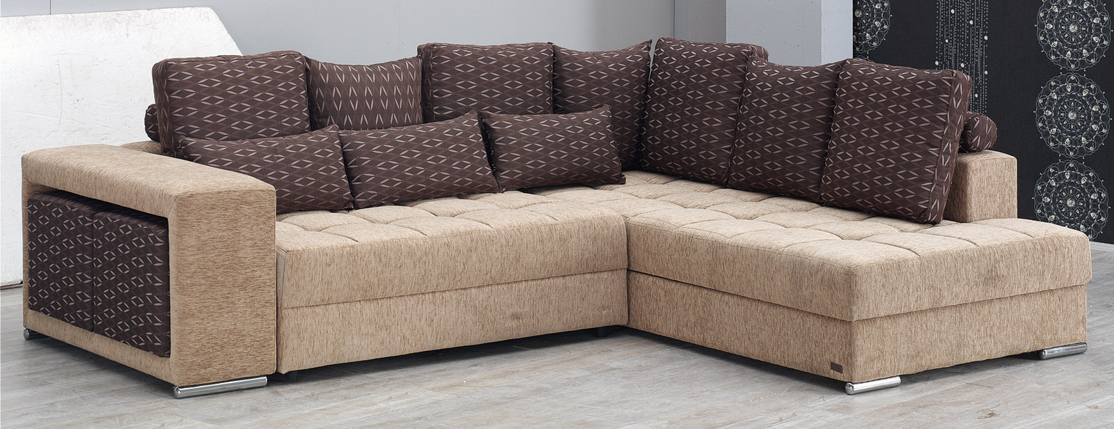 los angeles sofas best sleeper sofa mattress pad sectional set by empire furniture usa