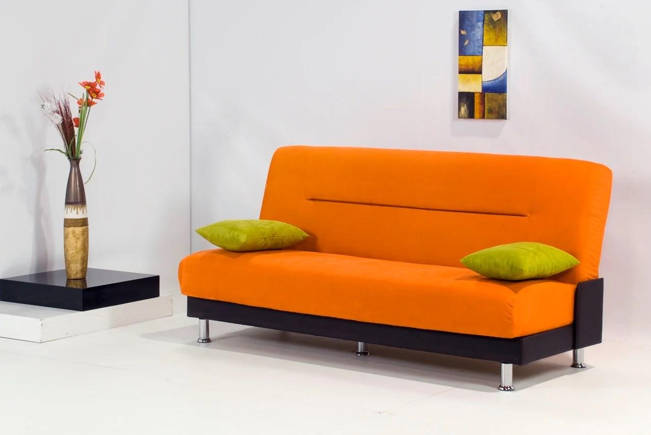 orange sofa bed martha stewart sofas for bernhardt laura by kilim