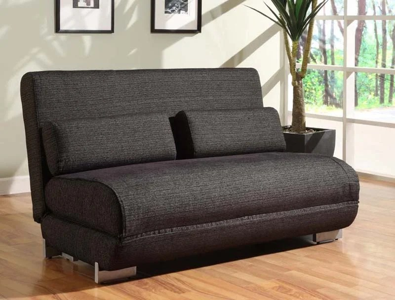 2 seater chaise sofa bed handy living bayonet floor sample yale convertible black by lifestyle ...
