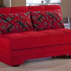 Ashley Furniture Sofa Sales With Chaise Lounge Twist Story Red Loveseat Sleeper By Istikbal (sunset)