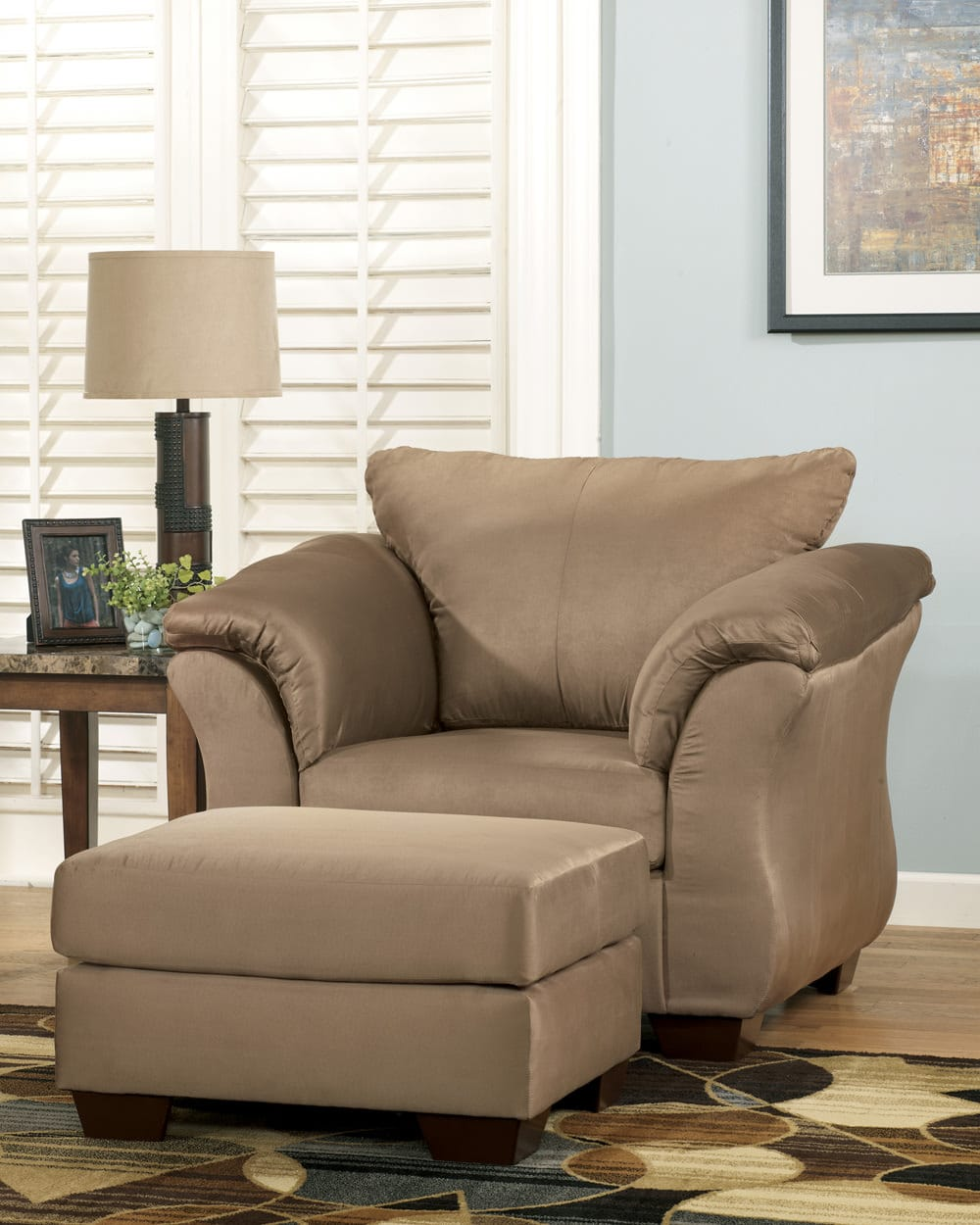 Ashley Chairs Darcy Mocha Chair Signature Design By Ashley Furniture