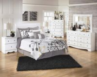 B270 Weeki White Bedroom Set Signature Design by Ashley
