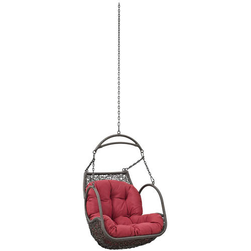 swing chair with stand outdoor for back pain relief india arbor patio without red by modern living