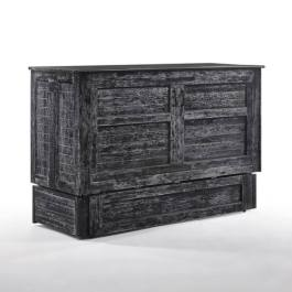 Poppy Blizzard Queen Murphy Cabinet Bed
