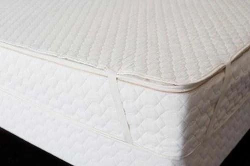 Organic Cotton Mattress Pad By Savvy Rest