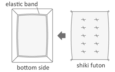 shikibuton-cover-fitted cover