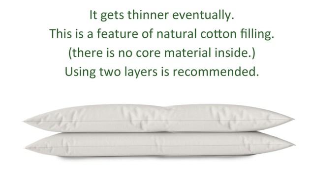 organic pillow topper