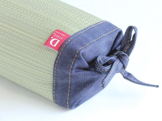 japanese tatami pillow with denim